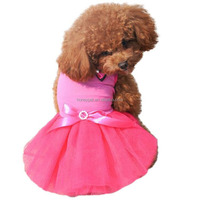 Wholesale dog apparel pet clothes of Pet princess dress
