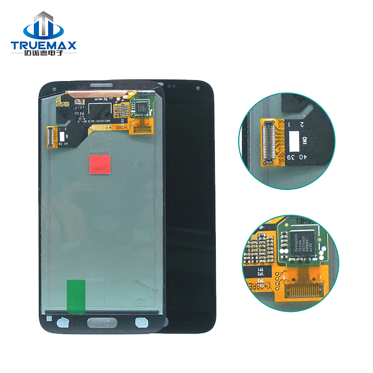 100% Tested Work Well LCD Assembly With Touch Screen Digitizer for Galaxy S5 i9600