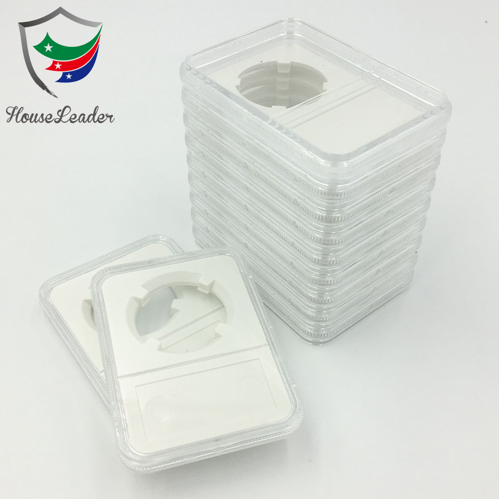 NGC BCW PCGS certified style rectangular coin slabs capsules holder storage box