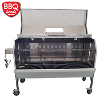 Heavy duty charcoal spit rotisserie/roaster