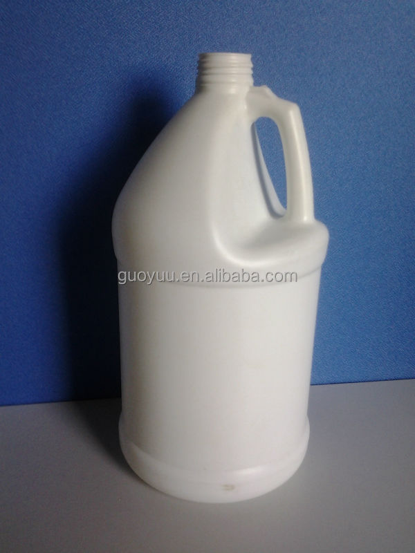 1 Gallon Plastic Solvent Compatible Natural 38/410 F Style HDPE Fluorinated Bottle