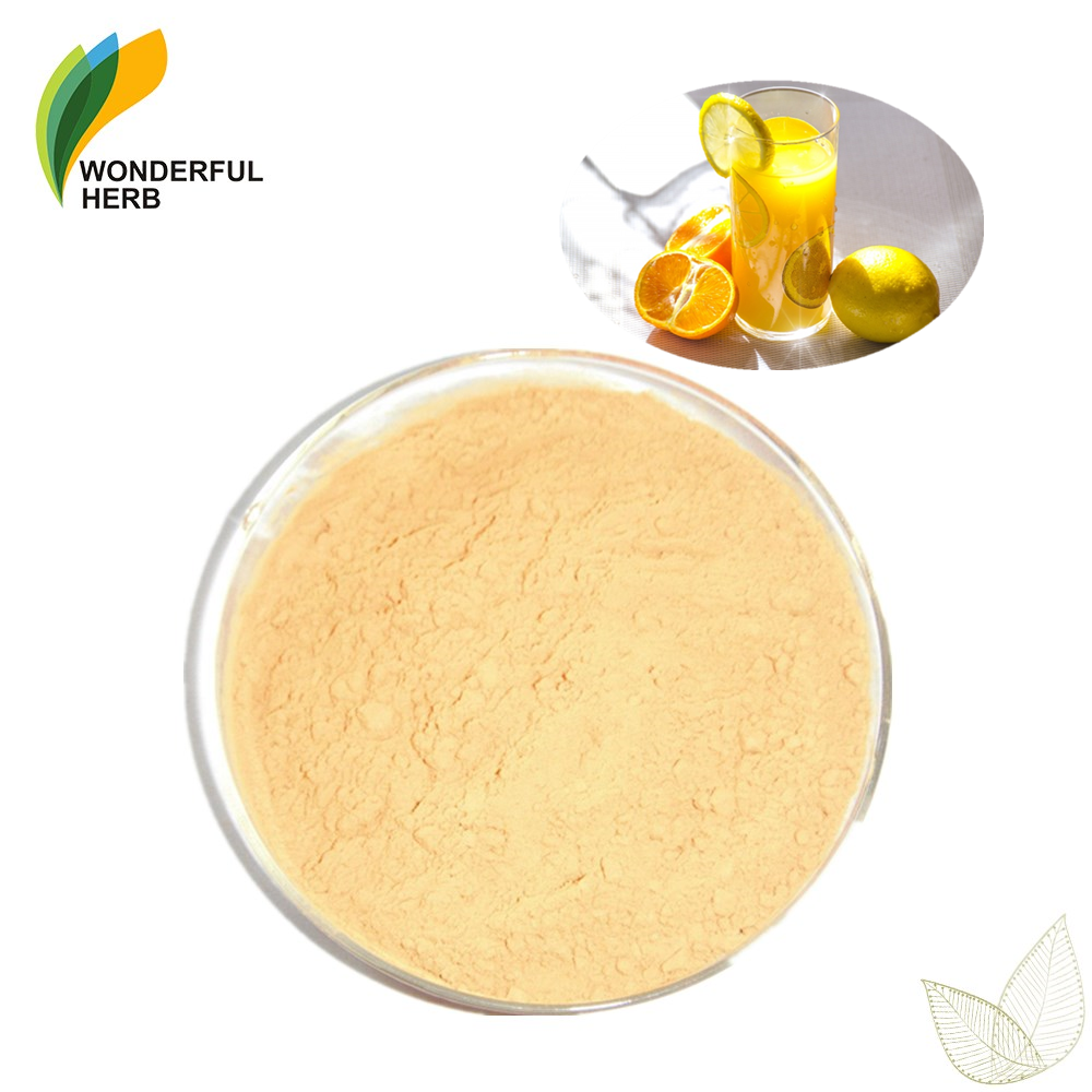 Fruit juice flavor dried lime peel tea extract pure lemon peel powder for skin