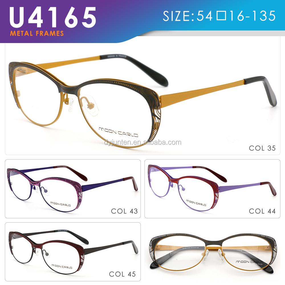 Birçok çinli Gözlük çerçeveleri Boyama Toptancıdan Toptan Fiyatına