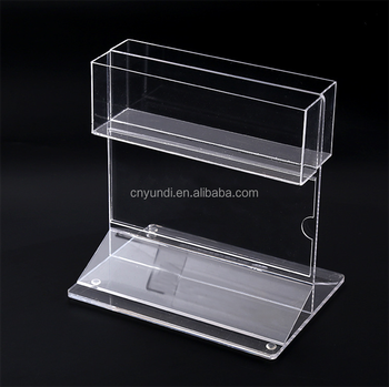 Modern Customized Plastic Acrylic Cigarette Box Storage Display Rack