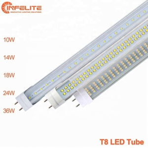 g13 14w 18w 36w 600mm 1200mm t8 tube fa6 fa8 r17d tube 24w traditional fluorescent light replacement 10w led
