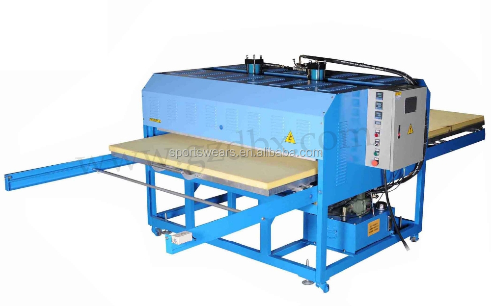 Semi-automatic hydraulic single station oil heat press pyrograph machine