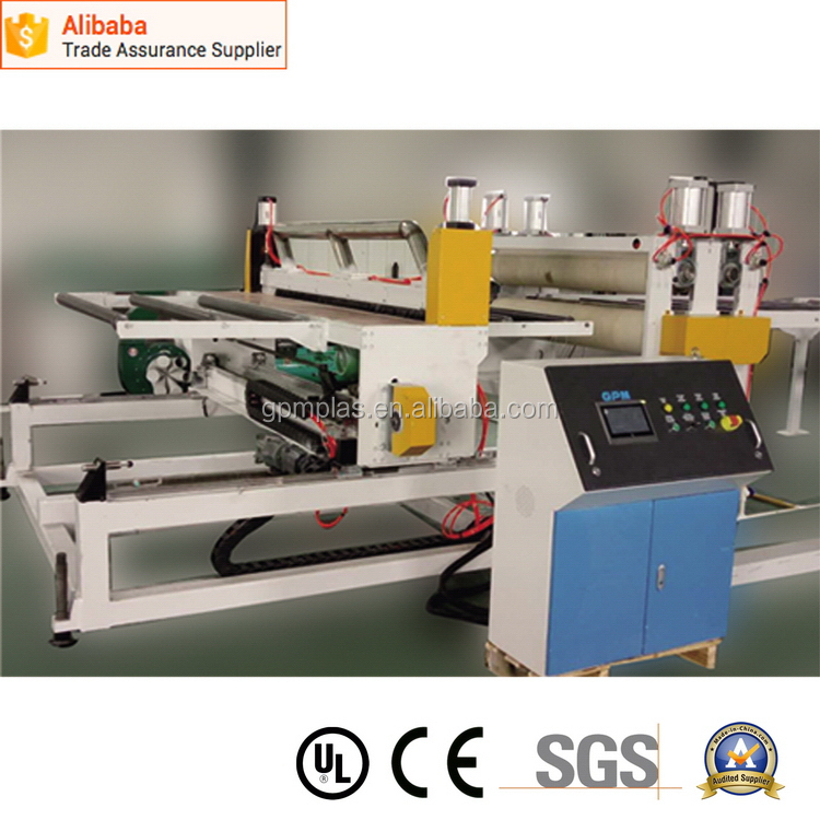 2016 hot sale pvc fascia board making machine