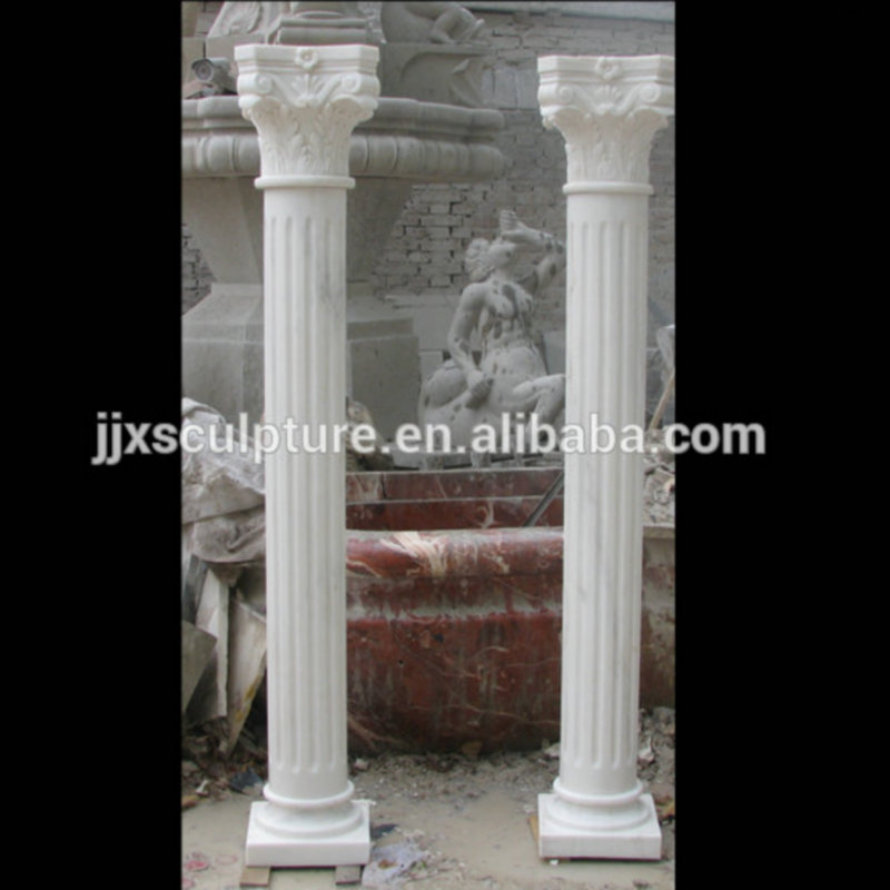 Columns For Sale >> Carved White Marble Natural Stone Roman Columns For Sale Buy