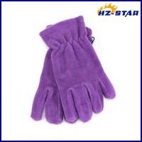 HZS-13220006 2017 Promotional custom winter wholesale unisex warm polar fleece gloves