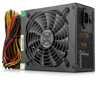 1600w PC Power Supply Quiet Fan ETH Miner PSU Mining Ethereum ZCash Mining Machine