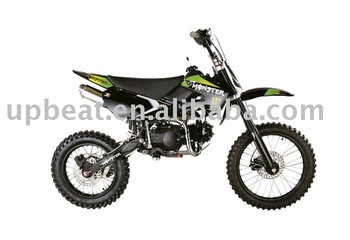 125cc Dirt Bike(kawasaki Design,Monster Sticker,17/14 Big Foot ...