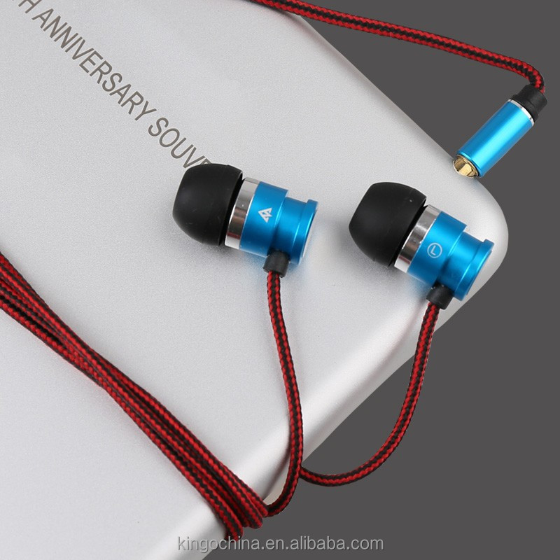 China supplier 3.5mm MIC earphone reel cable free sample supplied