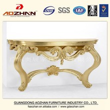 Lobby wall Gilding console table