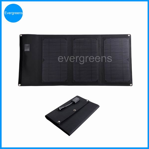 Folding solar charger by 12v 20w solar panel
