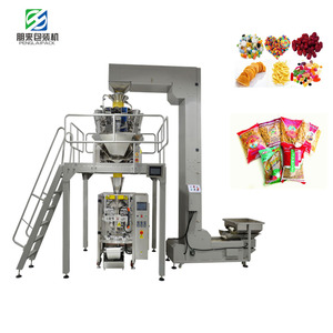 Automatic ice candy packaging filling and sealing packing machine