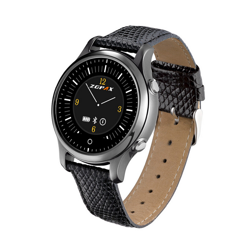 Original Bluetooth SmartWatch ZGPAX S360 Sports WristWatch Wearable Devices Smart Watch For IOS Android Fitness Tracker New