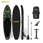 2019 New Design Custom Foldable Inflatable Sup Stand Up Paddle Board for Kayaking Fishing Yoga Surf