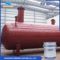 AB323 coal tar epoxy paint sea water resistance steel surface application underwater primer