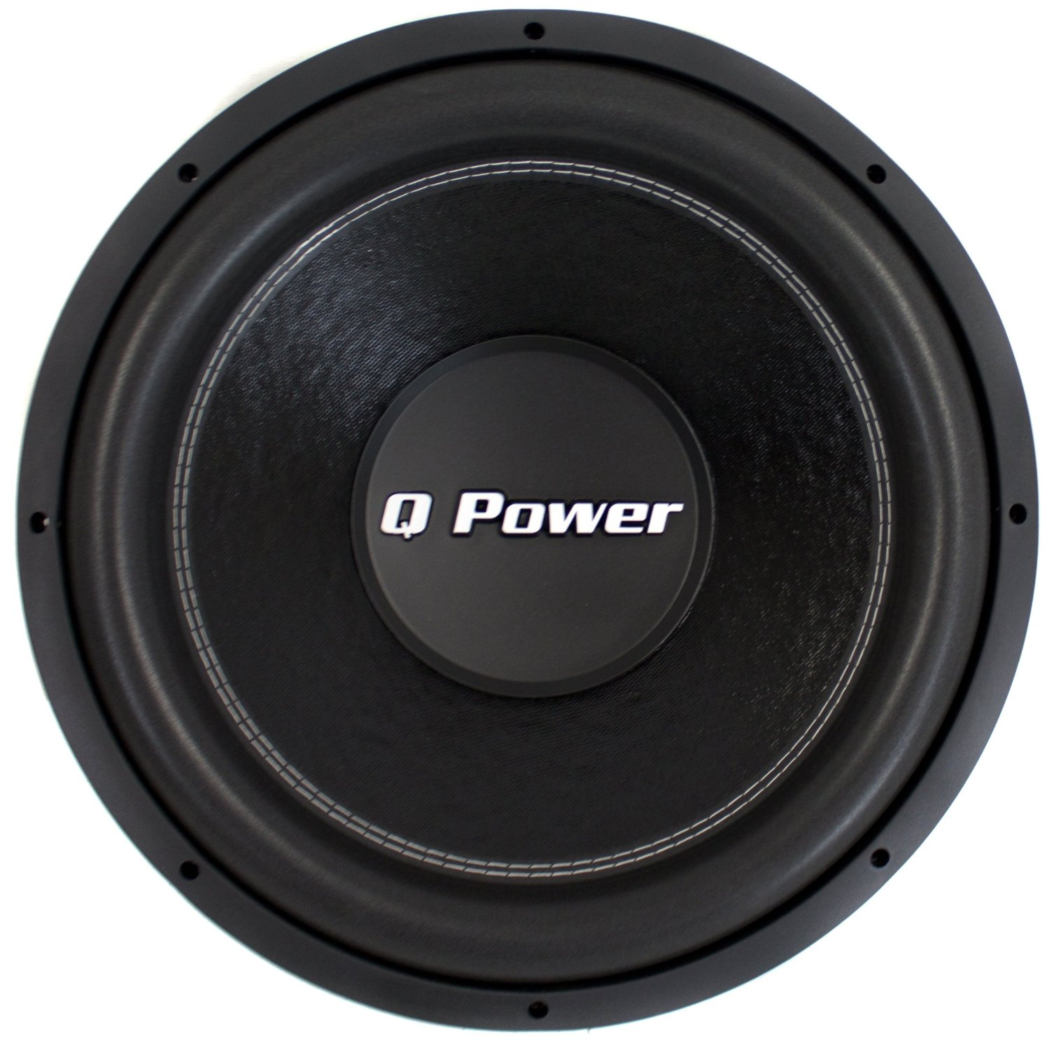 "Q-POWER QPF15 15"" 2200W Deluxe Series Dual Voice Coil Car Audio Power Subwoofer"