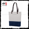 Blank canvas wholesale tote bags shopping tote bag with zipper
