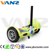 2016 China 8inch Smart Board Scooter Self Balance 2 Wheel Scooter with Rolling LED Lights and UN38.3 battery