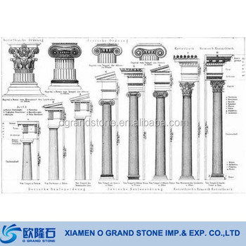 natural stone alabaster roman corinthian columns