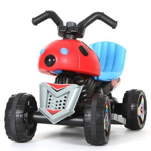 Safety Extra Wide Wheel Flashing Light Electric Toy Car For Dune