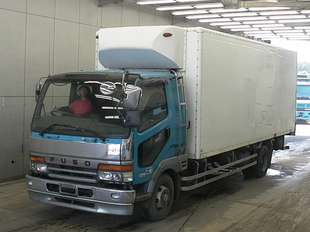 Mitsubishi Fuso Fighter Refrigerator Truck / 6d17 Engine