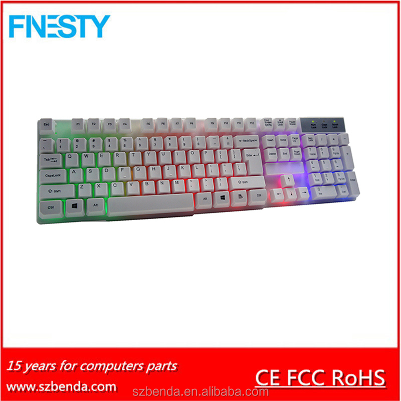 Mini Blacklight Wired Keyboard K858 with competitive price