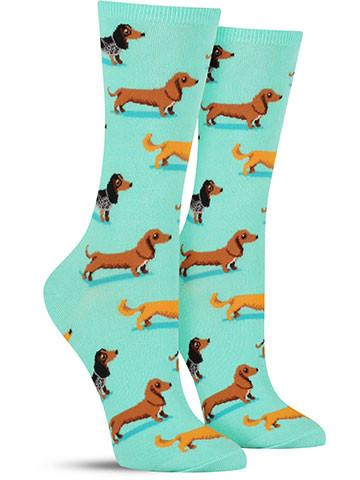 speical offer huge selection of amazon Dachshund Pattern Custom Wholesale Printing Women Cozy Socks - Buy Women  Socks,Custom Socks,Printing Socks Product on Alibaba.com