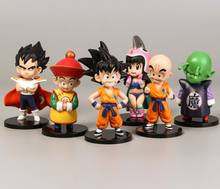 6 stuks Pack <span class=keywords><strong>Dragon</strong></span> <span class=keywords><strong>Ball</strong></span> <span class=keywords><strong>Z</strong></span> Super <span class=keywords><strong>Dragon</strong></span> Sterren Speelgoed Goku Action Figures Cake Toppers Set-Toy Collection Gift