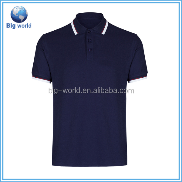 Factory OEM custom Made In China Golf Polo T Shirts silk screen printing logo