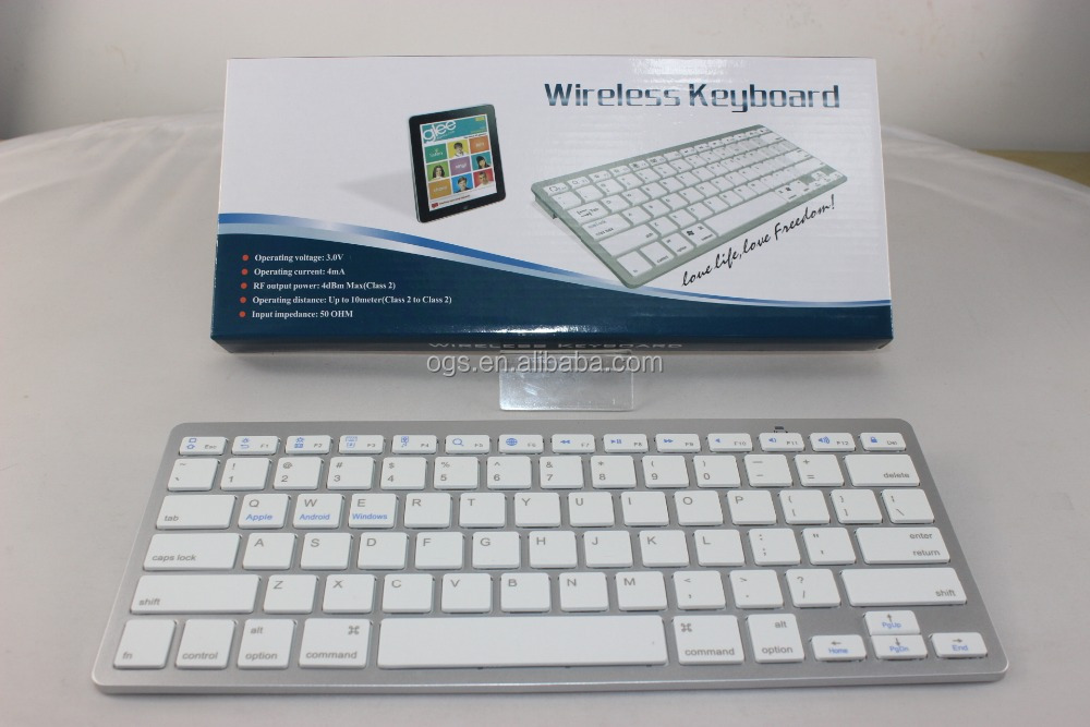 2016 Portable mini wireless bluetooth keyboard