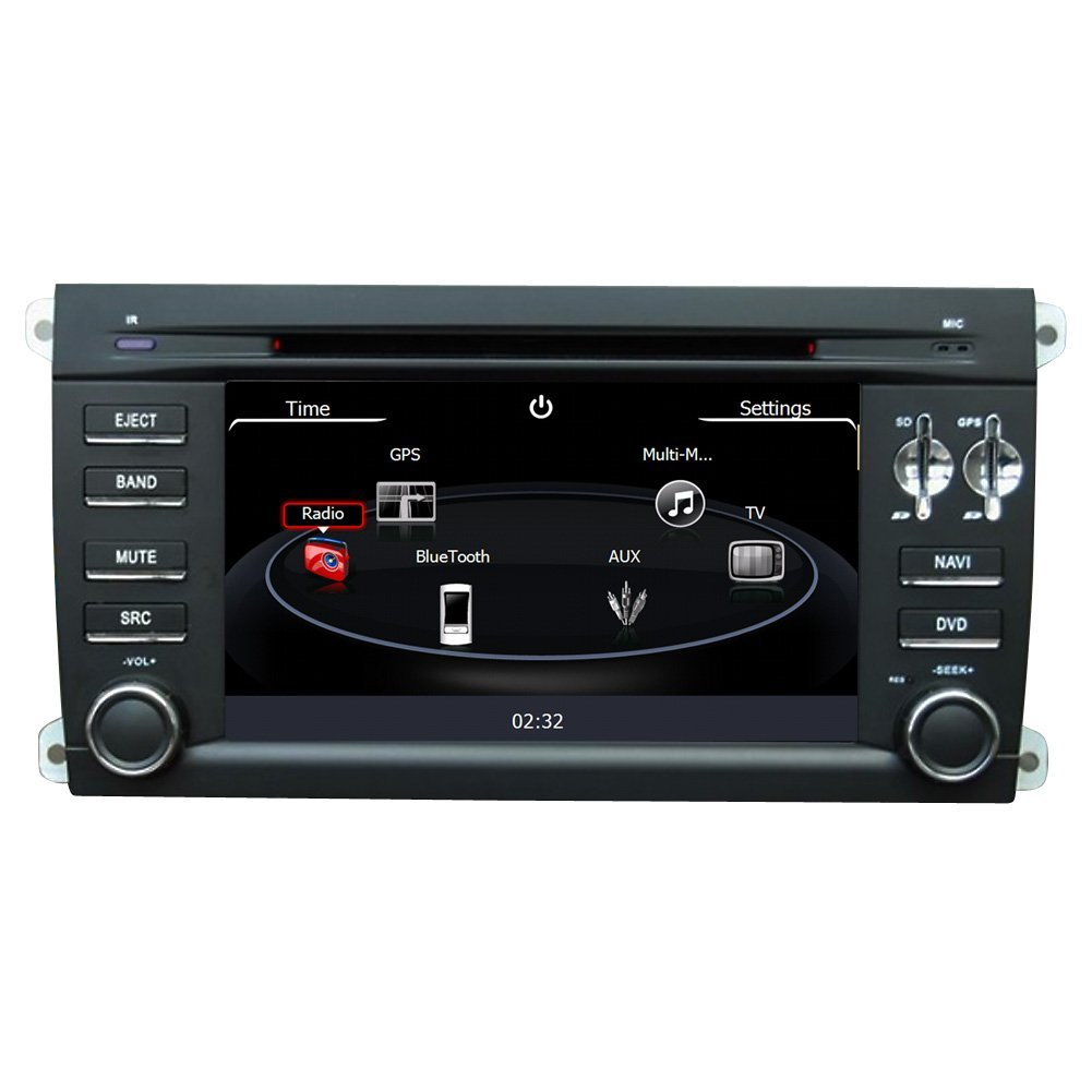 Buy Rupse For Porsche Cayenne DVD Navigation System with 7 Inch