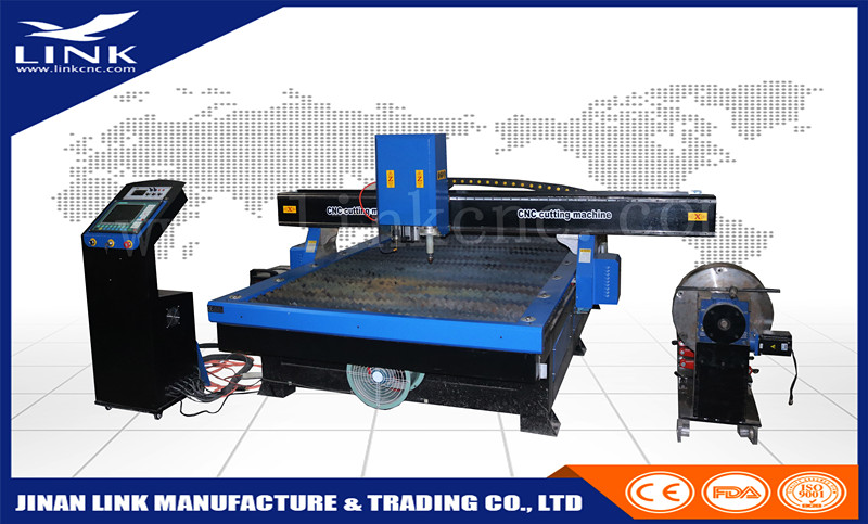 Plasma metal letter cutting/stainless steel pipe cutting machine/ high configuration metal processing cnc plasma