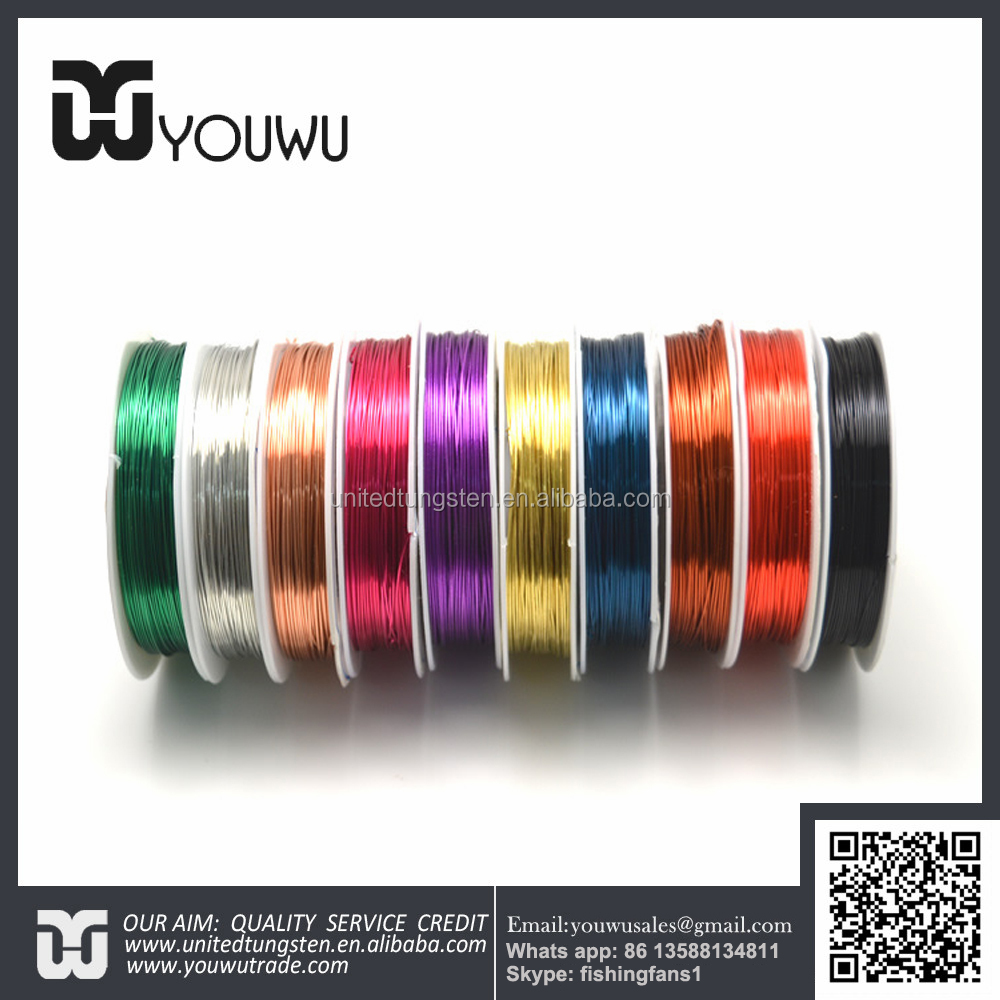 Fly Fishing Tying Material Colorful Copper Wire