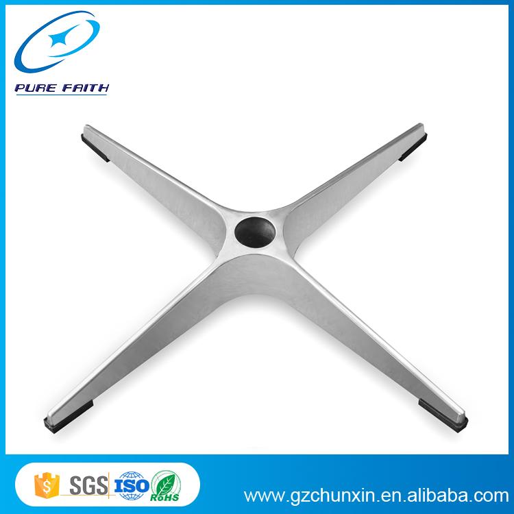 High Quality Aluminium Swivel Chair Base For Recliner/Metal Chair Leg/Chair  Feet