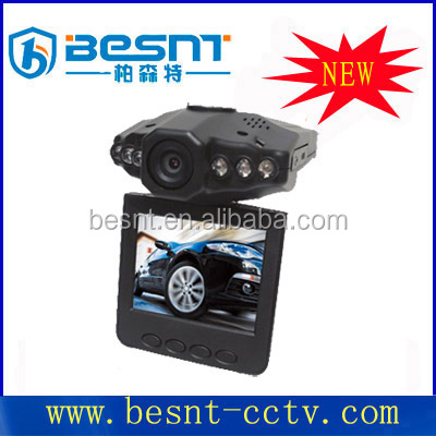 2015 Besnt hot sale Night Vision Car DVR recorder with 2.4inch tft lcd 32gb tf card mobile camcorder BS-CJ03