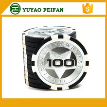 Yuyao fabriek casino game <span class=keywords><strong>chips</strong></span> met laser sticker <span class=keywords><strong>poker</strong></span> <span class=keywords><strong>chips</strong></span> 1 5 10 15 20 25 <span class=keywords><strong>50</strong></span> 100 500 1000 5000 denominaties