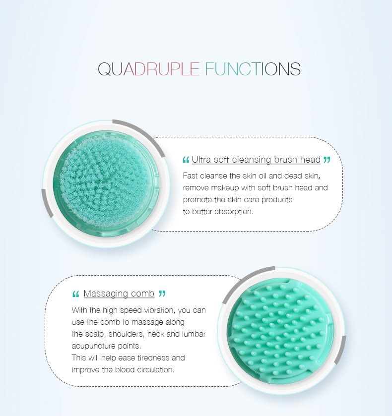 Nicemay Deep Cleansing Facial Cleansing Brushes
