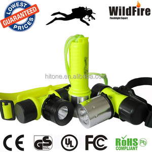 High Power Xm-L T6 Led Diving Flashlight 1200Lm Torch Waterproof Led Diving Torch