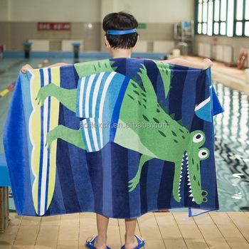wholesale flip flop design personalized beach towels for kids buy