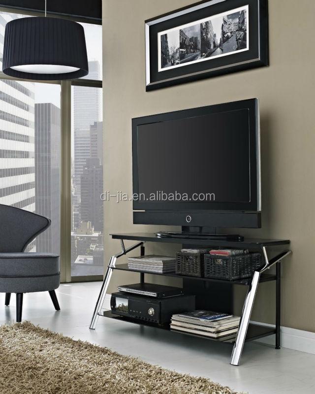 Mobili Soggiorno Moderno In Vetro 3 Tier Vetro Telaio Tv Supporto In  Metallo - Buy Mobili Soggiorno Porta Tv Led,3 Tier Vetro Temperato Tv ...