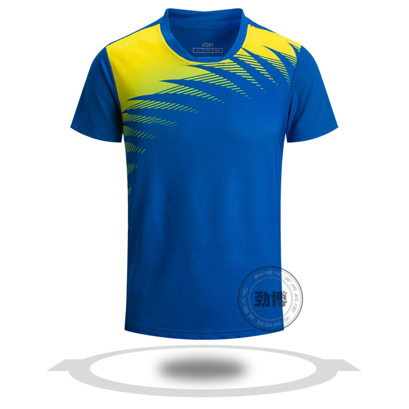 Wholesale best quality design badminton jersey set sublimation badminton jersey