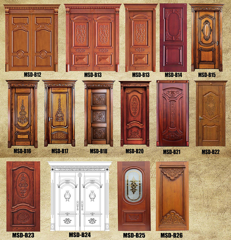 2016 latest design 30 inch double leaf wooden entry door Foshan. 2016 Latest Design 30 Inch Double Leaf Wooden Entry Door Foshan