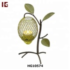 Decorative Lemon Tree Metal Candle Holder Stand