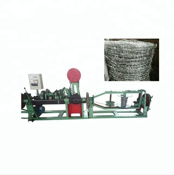 double twisted barbed wire fence machine