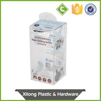 Customize Printed Pvc Foldable Clear Pet Plastic Package Packaging Box Manufacture