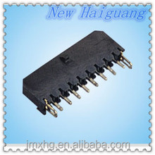 Micro-Fit 3.0 Family 3.00mm Pitch Vertical Headers,Single Row Plug Surface Mount Compatible with Pegs