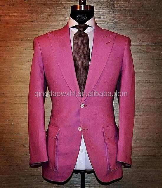 Tailor made to measure cashmere wool men's suitmen's suits for sale